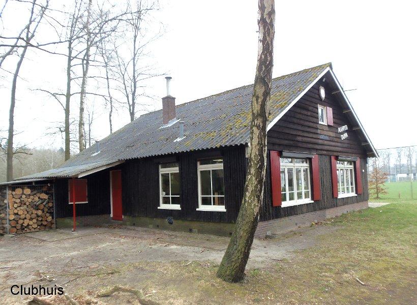 Blokhut achterkant scouting valeouwe Loenen