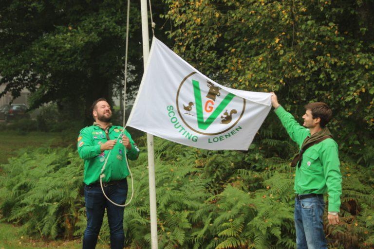 jubileumweekend scoutingvlag